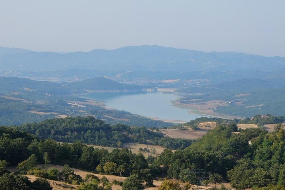 Lago Montedoglio, Valico dello Spino