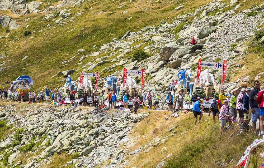 Col de la Croix de Fer, Tour de France