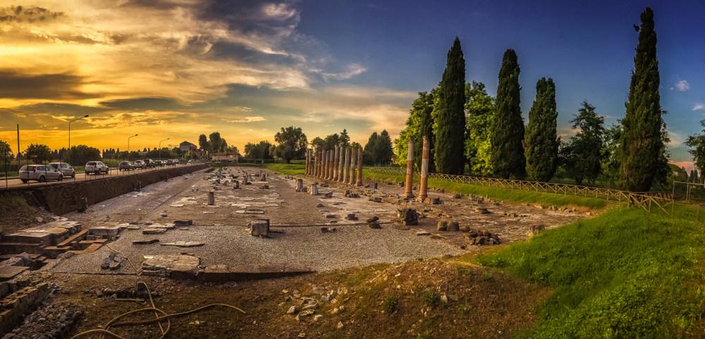 Aquileia, Foro romano