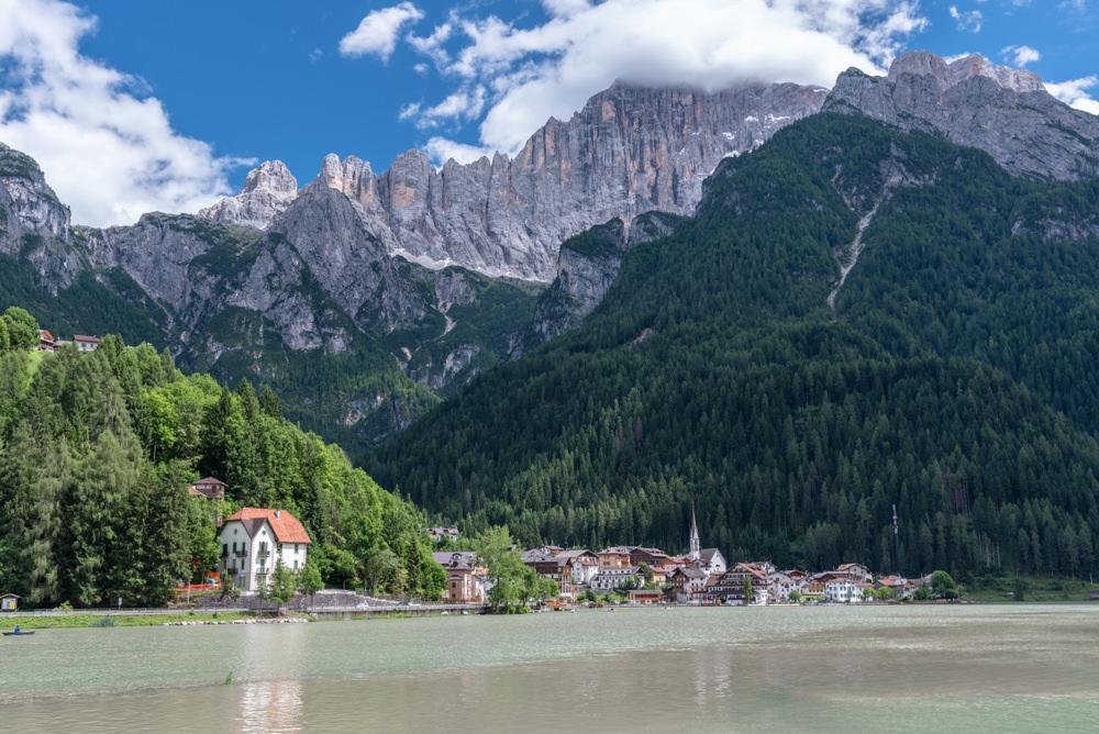Lago di Alleghe, Passo Duran