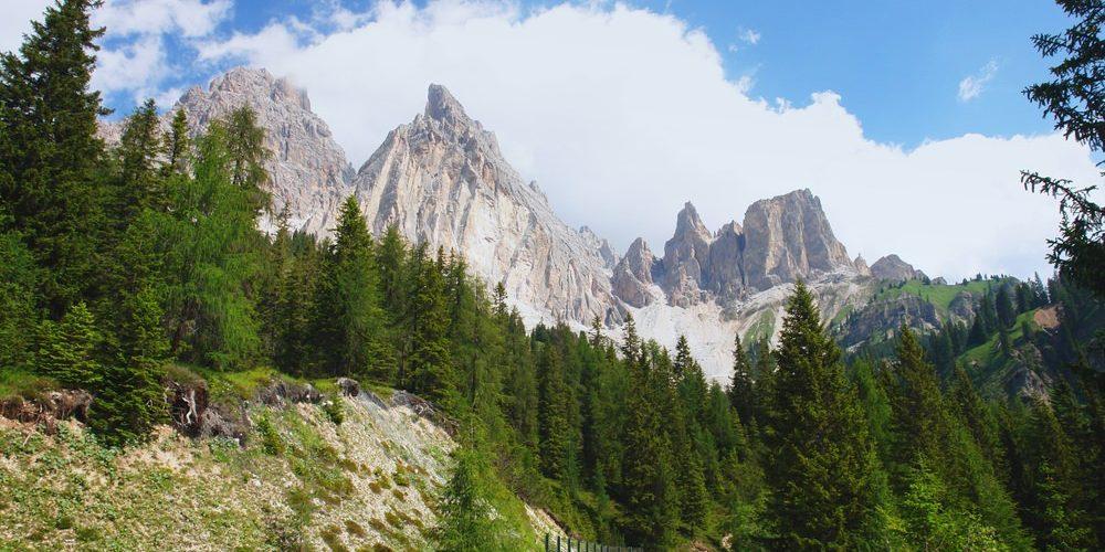 Passo Tre Croci, Dolomiti