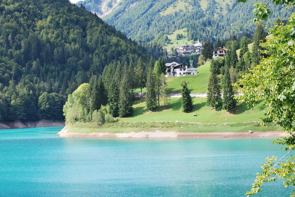Forcella Lavardet, Lago di Sauris