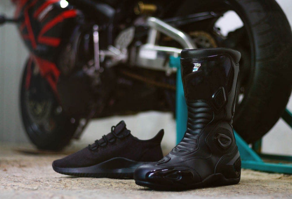 Scarpe moto, modelli