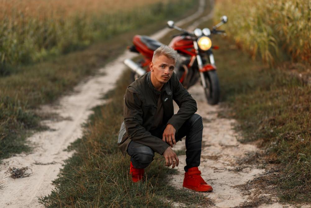 Scarpe moto, comfort e stile