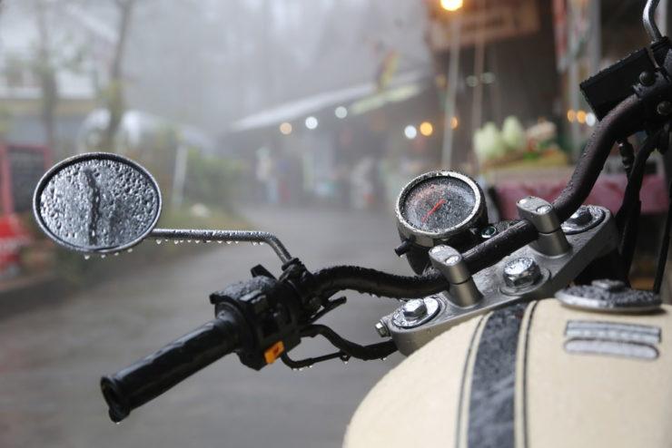 Antipioggia moto