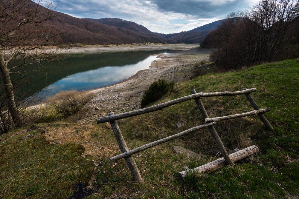 Passo del Lagastrello, lago Paduli