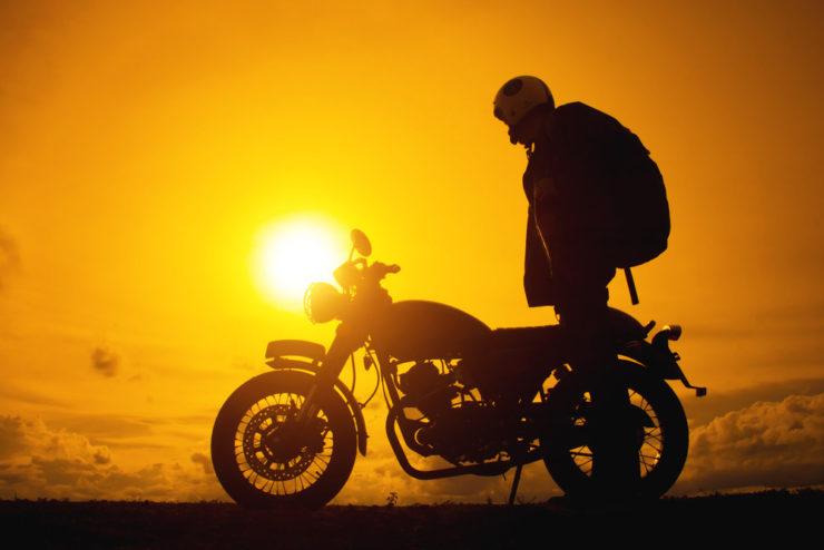 Zaino moto