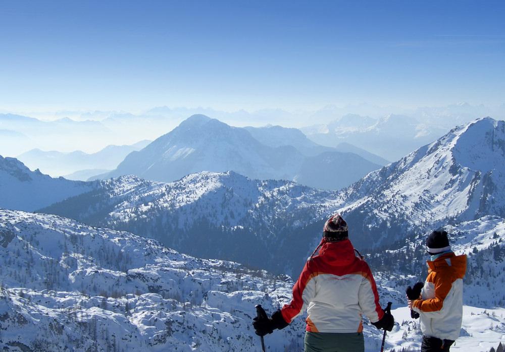 Pramollo, monti in inverno