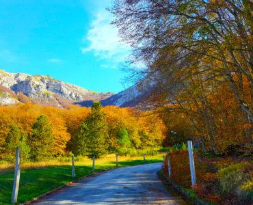 Valico della Forchetta, Abruzzo