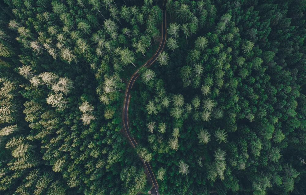 Passo Gobbera vista aerea
