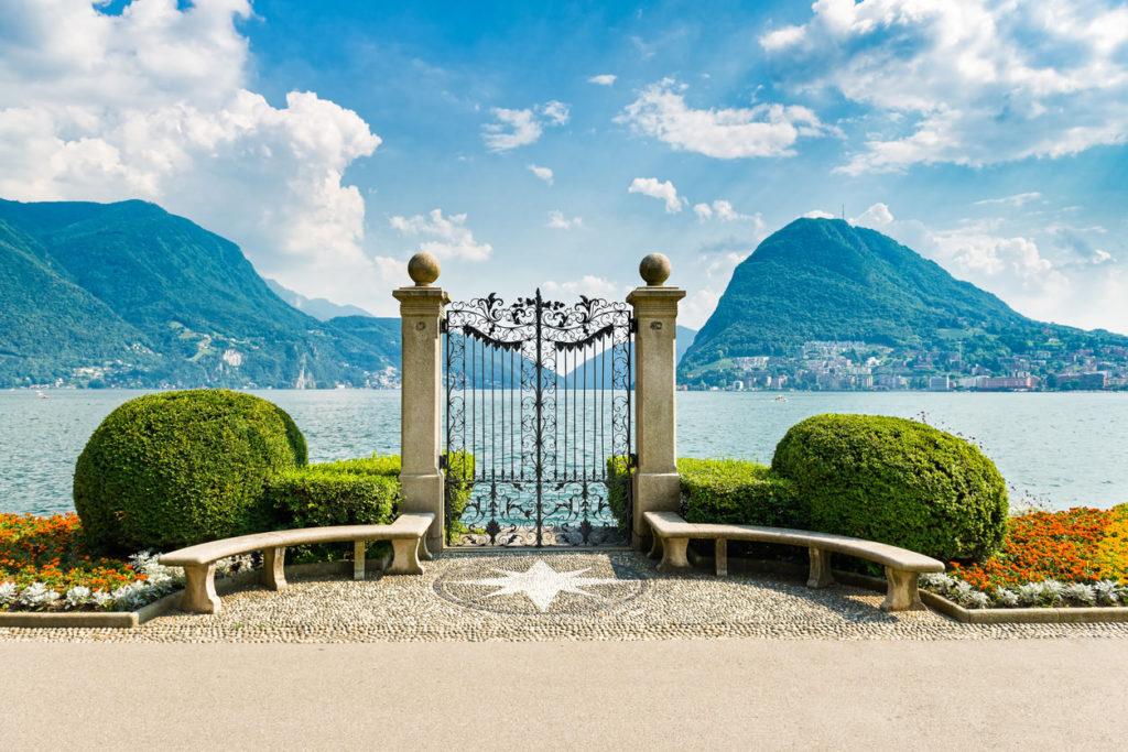 strade montagna Svizzera, Via Regina, Lugano