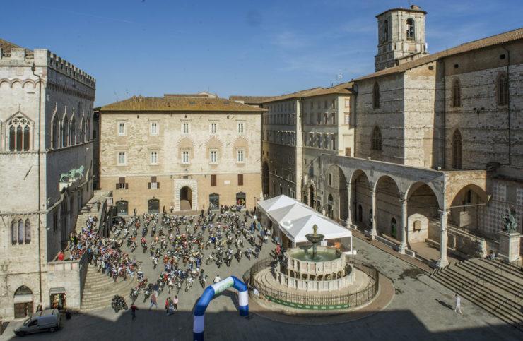 Piazza IV novembre Perugia