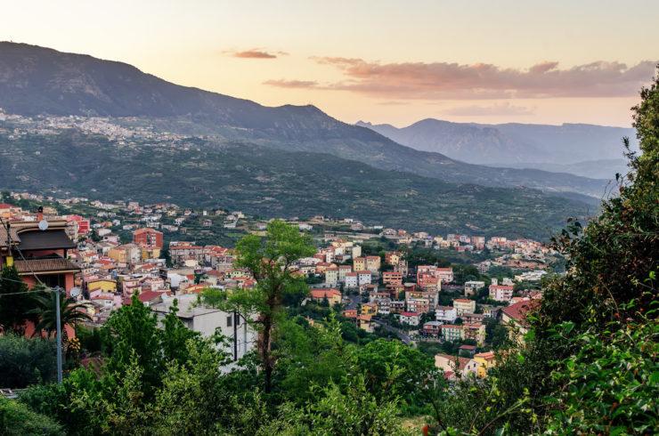 Lanusei, entroterra sardo, Sardegna