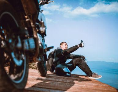 Moto in estate abbigliamento