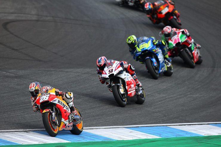Dani Pedrosa MotoGP Thailandia 2019