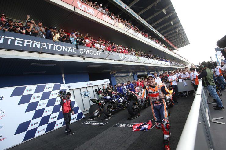 MotoGP Thailandia Marc Marquez