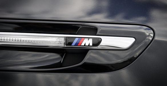 BMW M logo moto