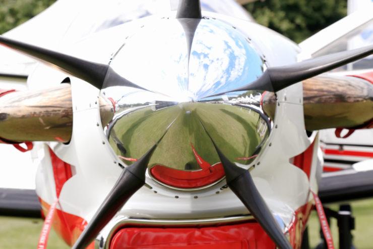 Wayne Gardner Pilatus RAAF