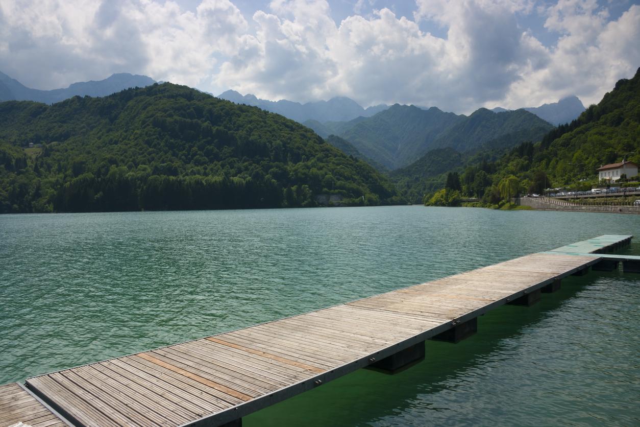 Barcis lago Valcellina