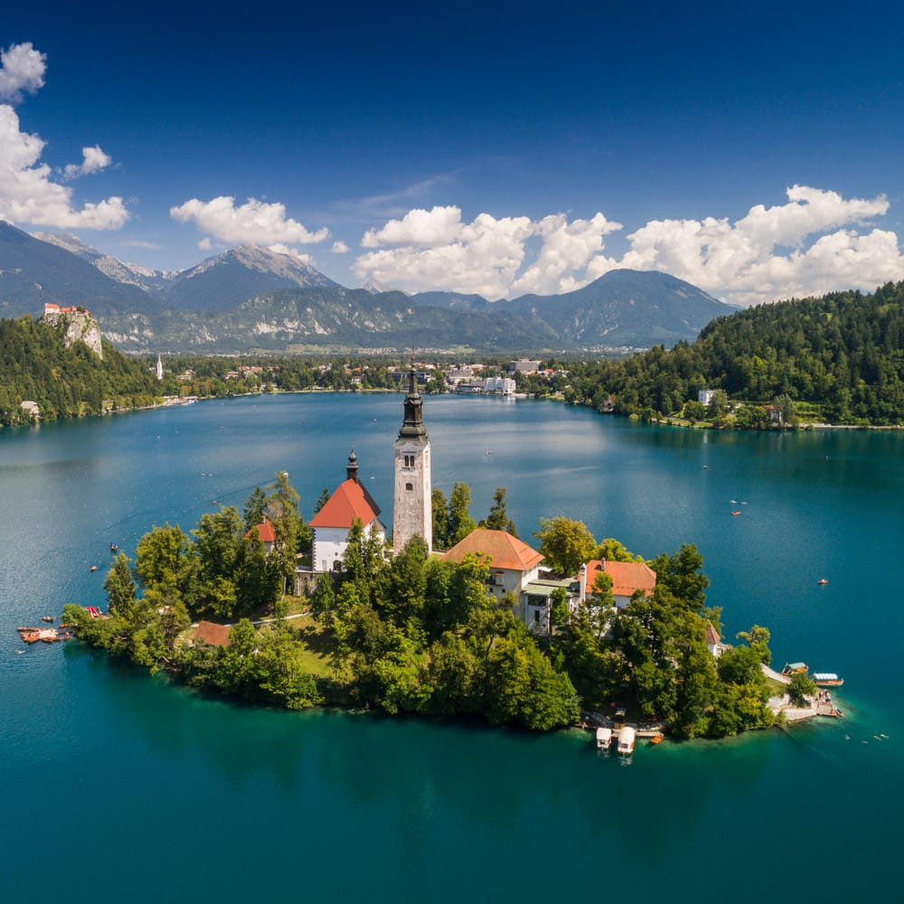 Lago di Bled, estate