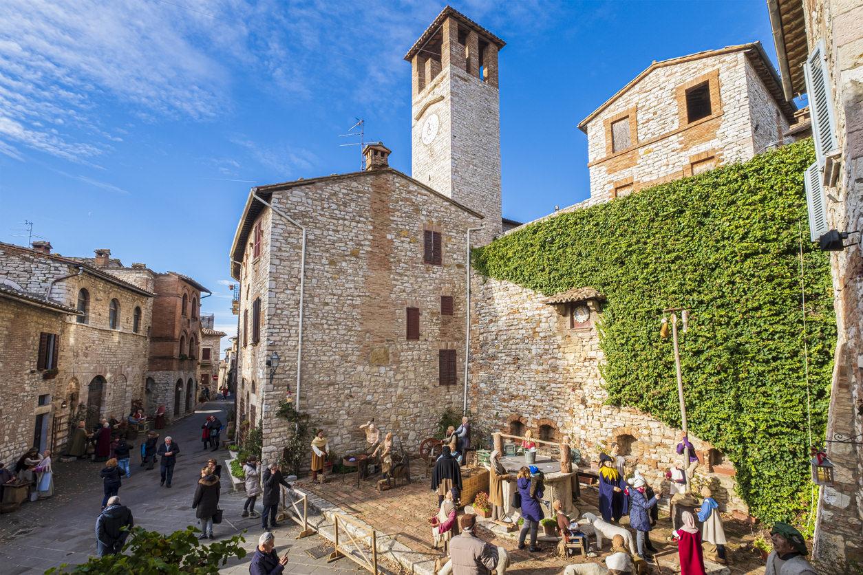 Corciano, Valle Tiberina