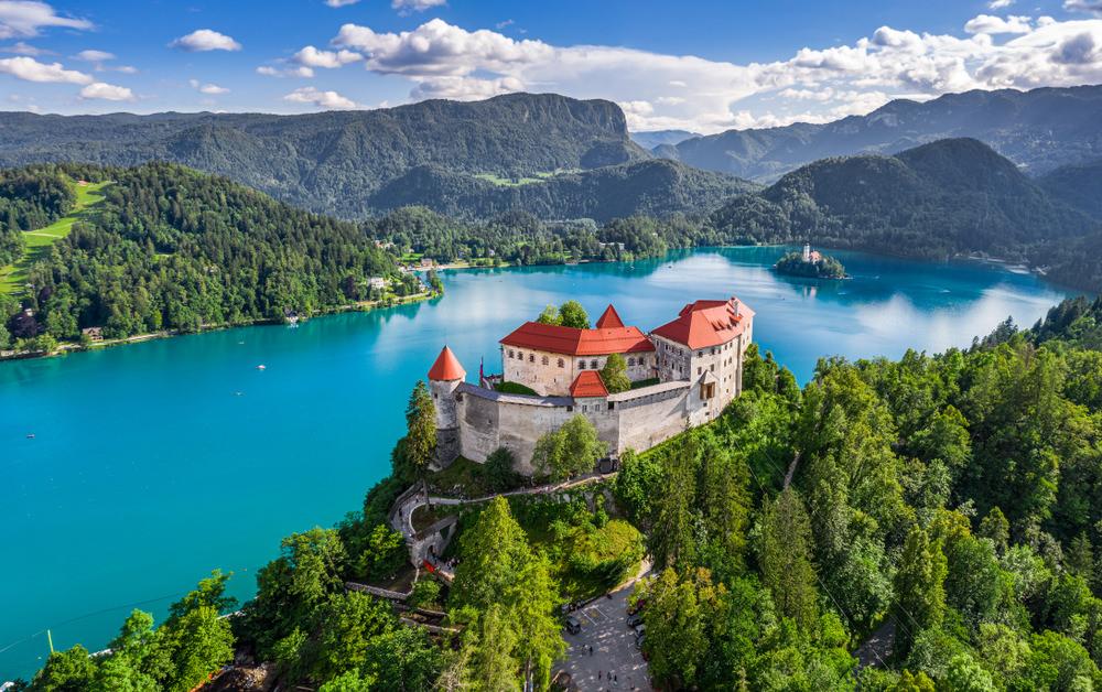 Bled, Castello