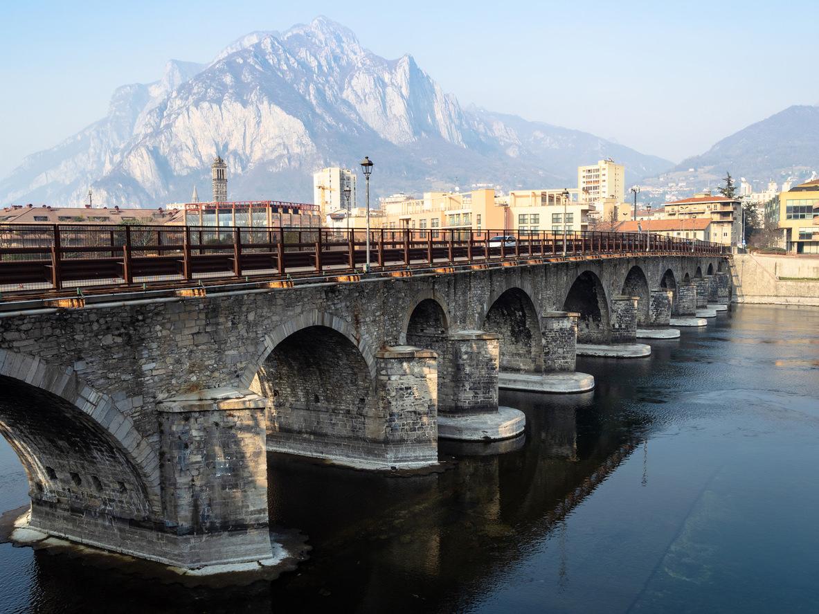Ponte Azzone Visconti Lecco