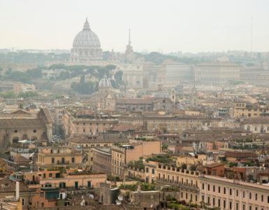 Roma smog blocco traffico