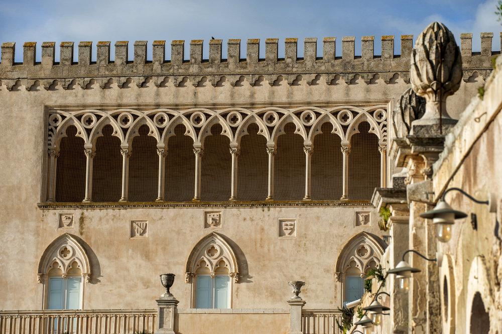 Castello di Donnafugata (Monti Iblei, Ragusa)