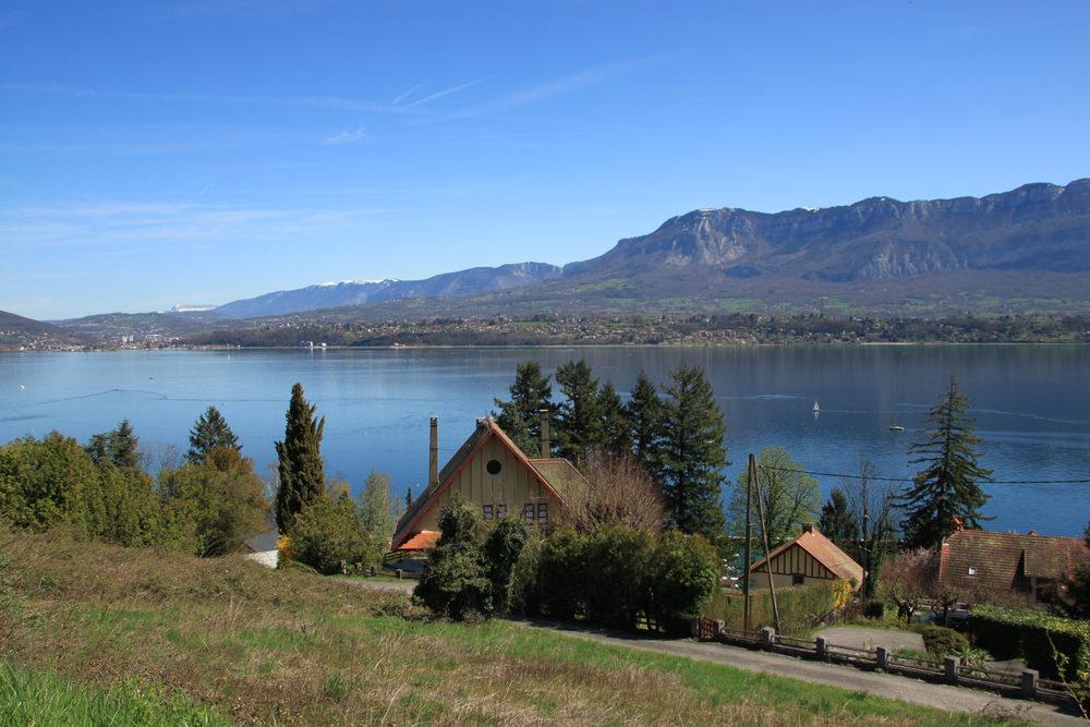Lago di Bourget, Alta Savoia