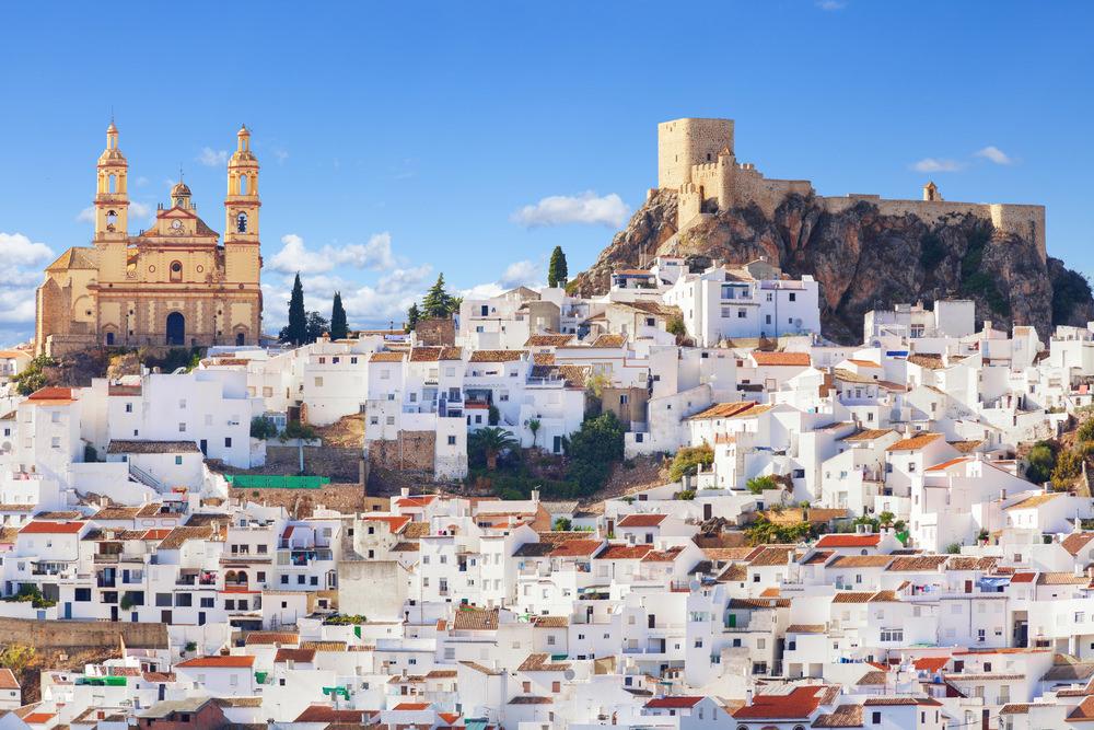 Olvera, pueblos blancos (Andalusia)