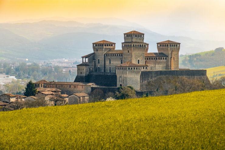 castelli del ducato di parma e piacenza - Torrechiara