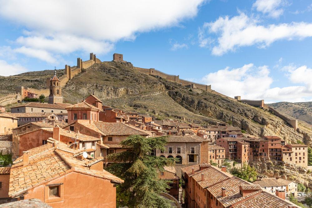 mura perimetrali di Albarracín