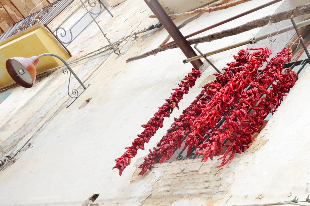 Peperoni cruschi, Senise