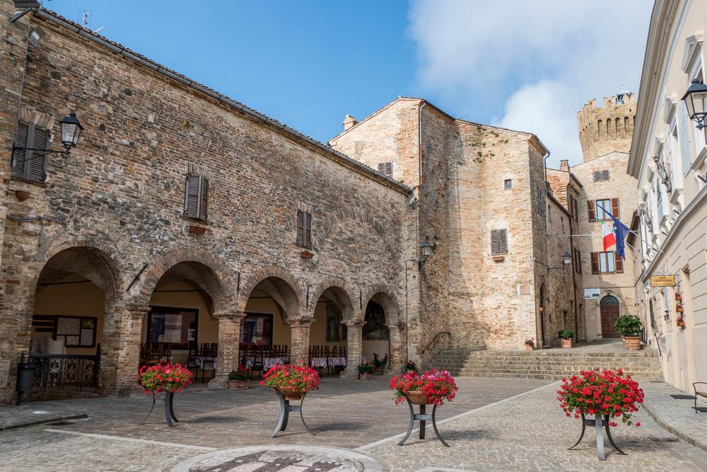 Moresco, centro storico