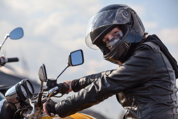 mascherina moto