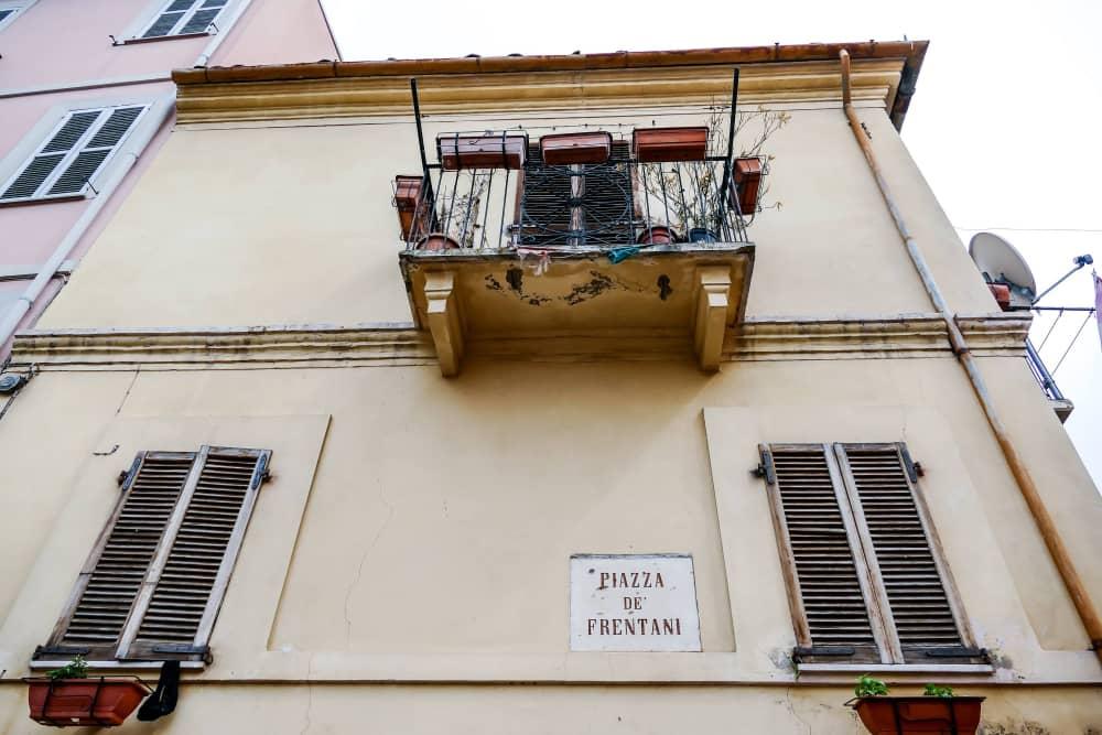 Lanciano, Piazza De' Frentani