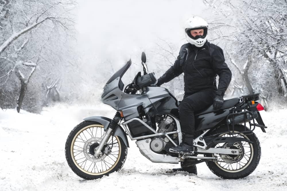 Piumino inverno moto