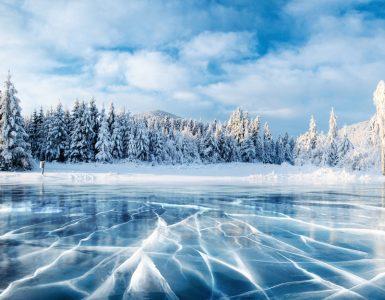 laghi ghiacciati