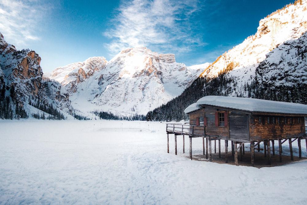 laghi ghiacciati, Braies