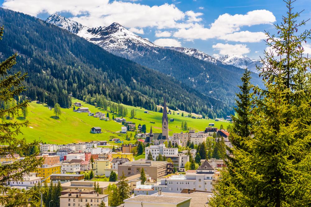 Davos, Alpi Svizzere