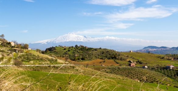 Monti Erei, Lago di Pozzillo