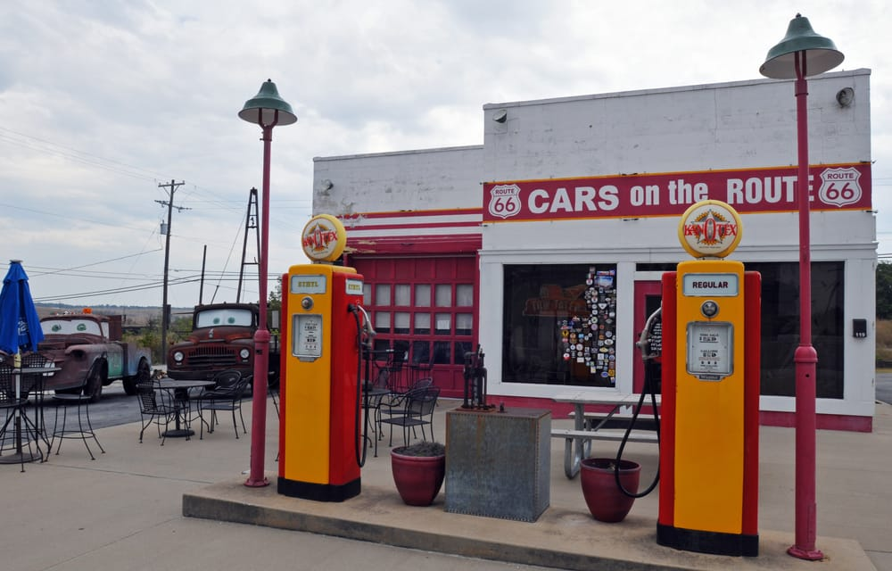 Route 66, Kan-O-Tex Service Station