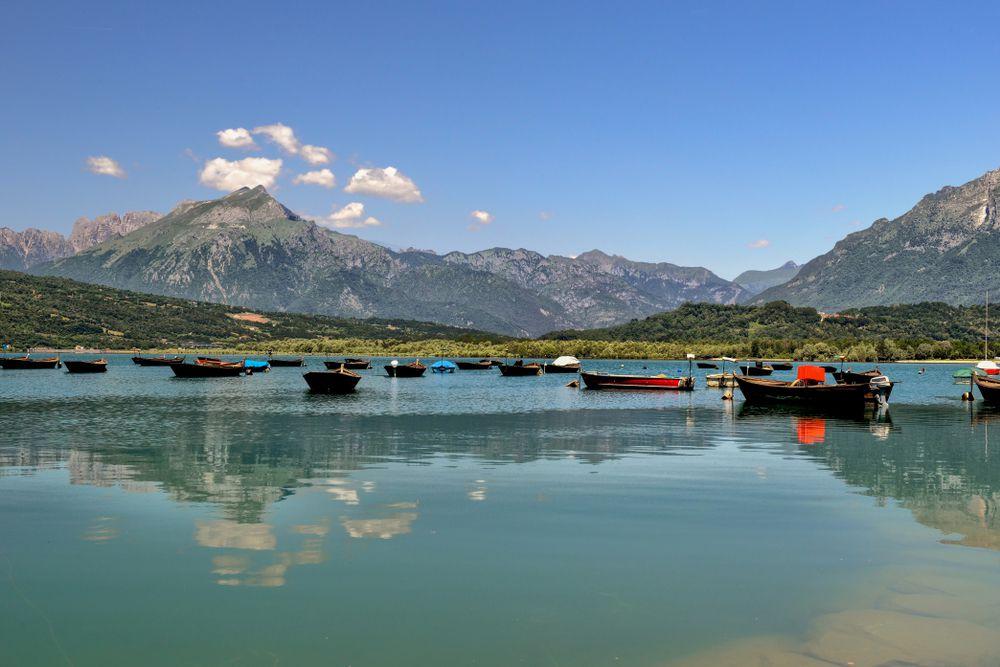 Lago S. Croce Belluno