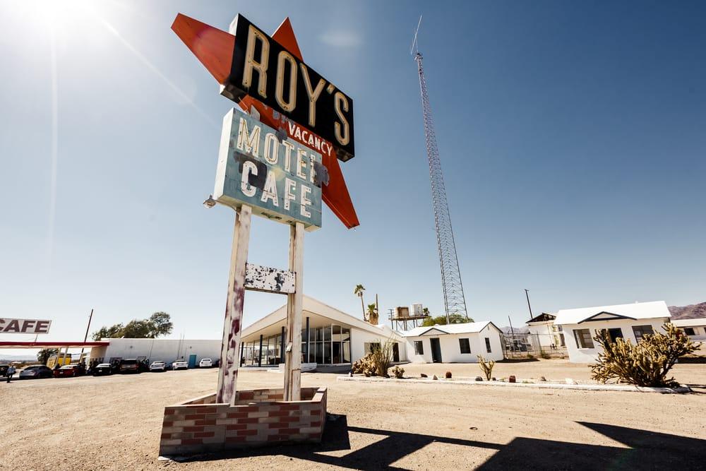 Route 66, Roy's Motel and Café