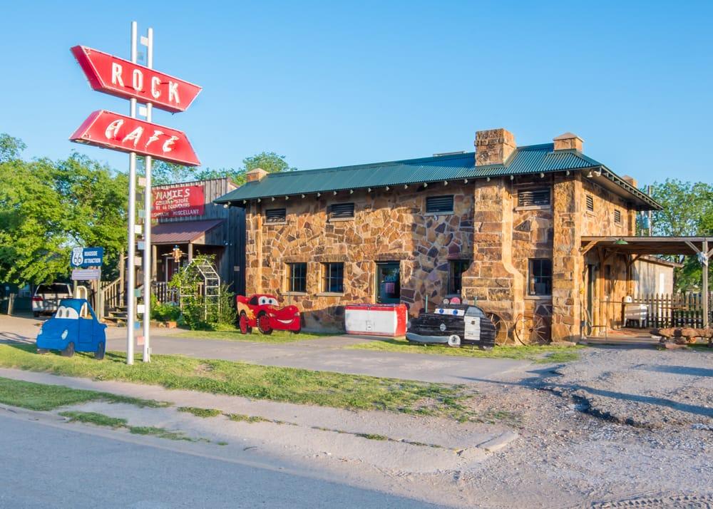 Route 66, Stroud Rock Café
