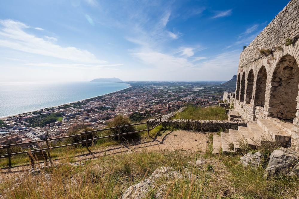 Tempio di Giove Anxur, Terracina