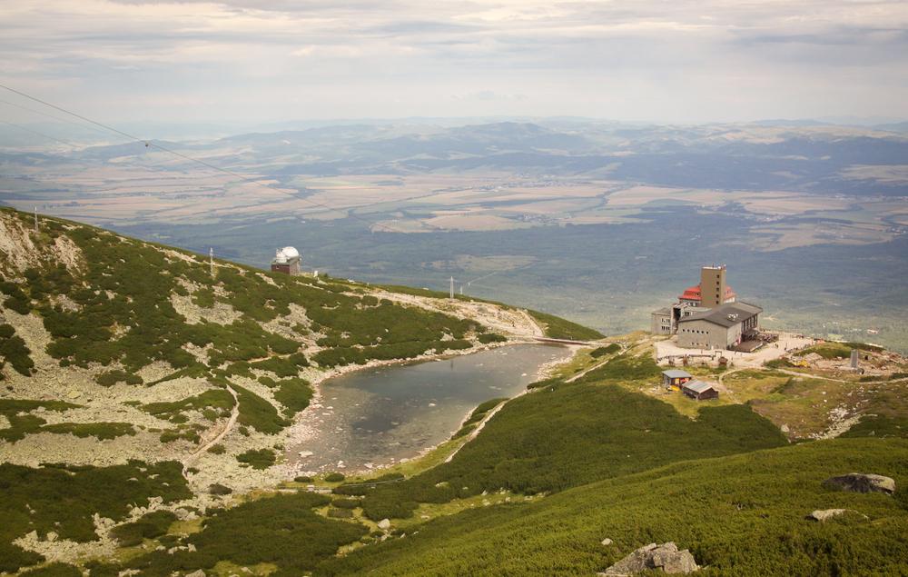 Tatranská Lomnica, Monti Tatra