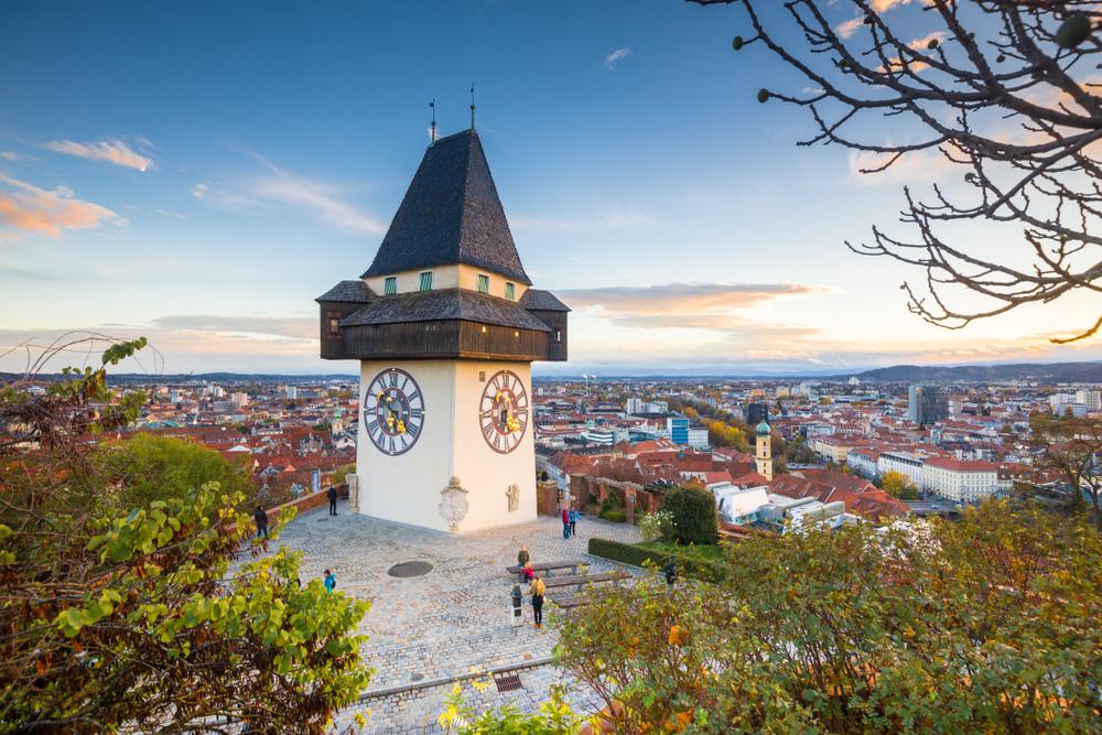 Grazer Uhrturm, Graz