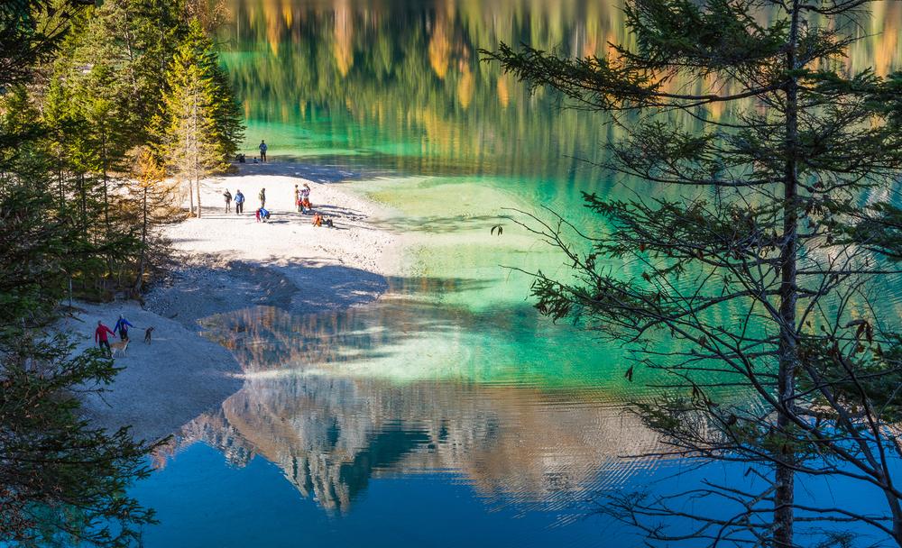 Lago di Tovel, Laghetti del Trentino